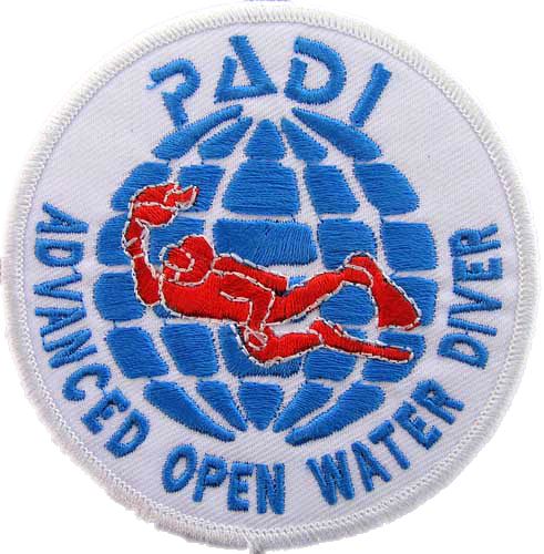 Requirements for padi advanced open water diver patch
